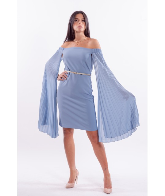 Dress With Wide Sleeves Renaissance