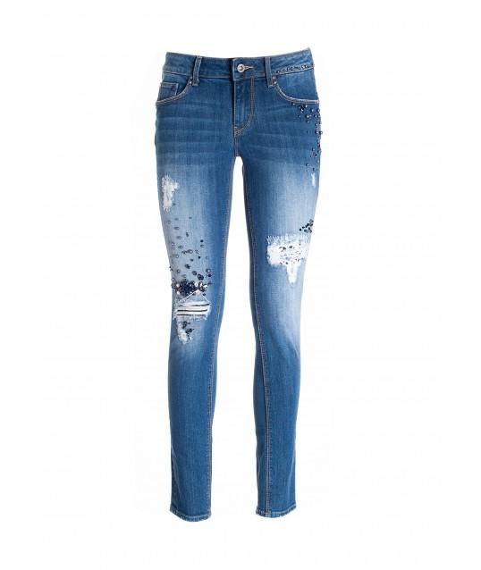 Jeans Skinny Effetto Push Up Fracomina