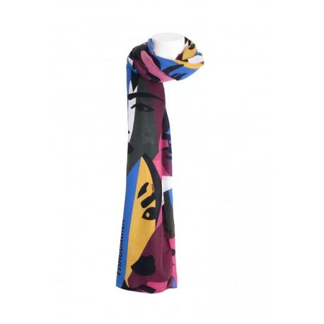 Foulard Over Con Stampa Multicolor Fracomina