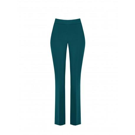 Pantaloni Mid Flared In Tessuto Tecnico Rinascimento