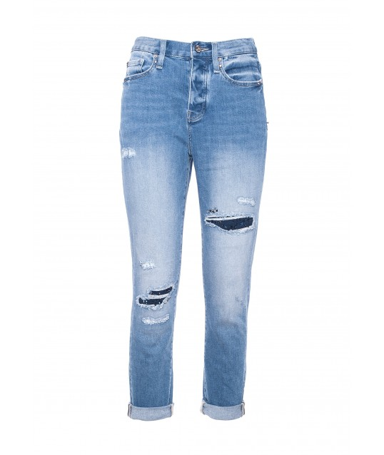 Regular Jeans In Denim Fracomina