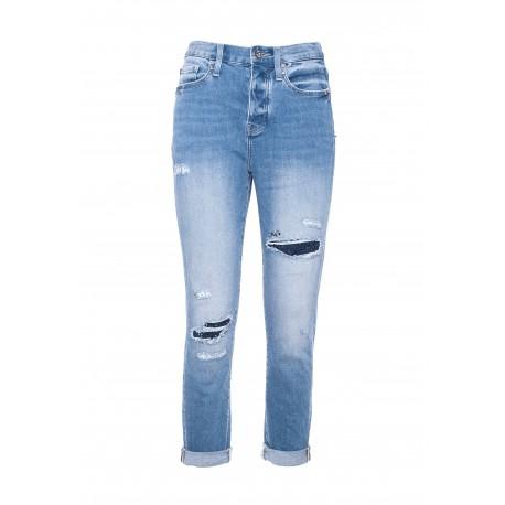 Jeans Regular In Denim Fracomina