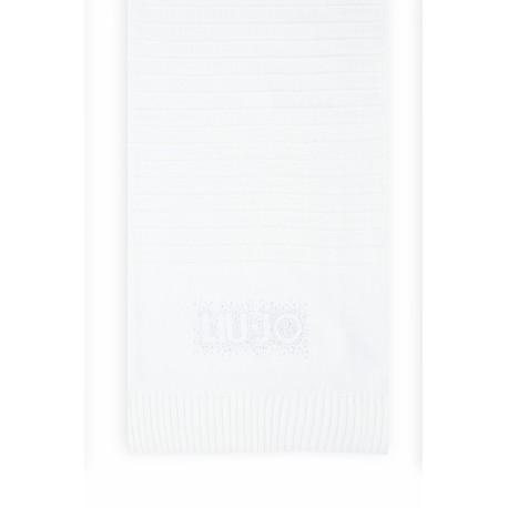 Sciarpa Con Logo E Strass Liu Jo