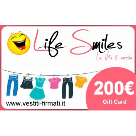 Gift Card Of 200€