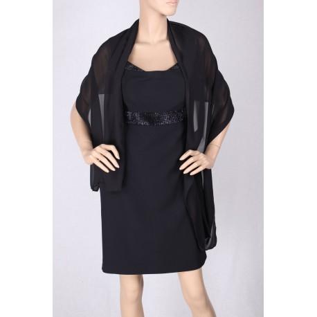 Elegant Dress Black Gai Mattiolo