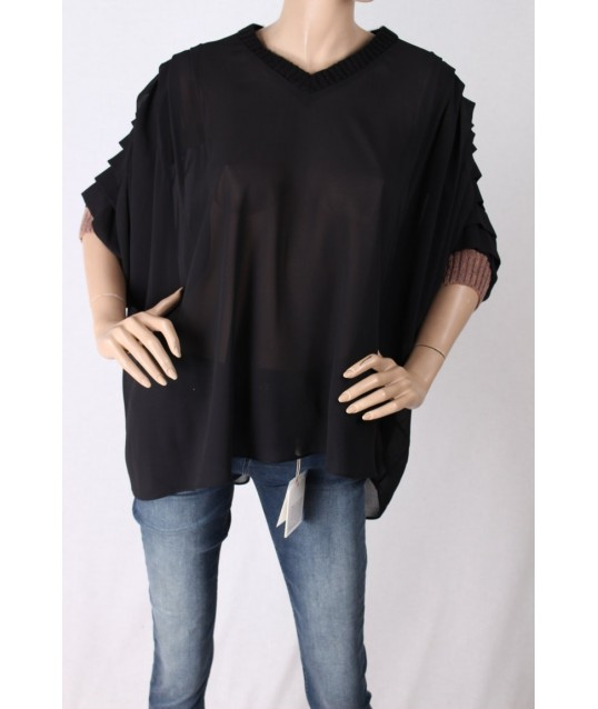Blouse With Sleeves Ruched Fracomina