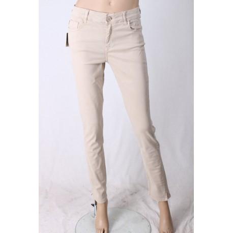 Pantalone Basico Con Ricami Elisa Cavalletti