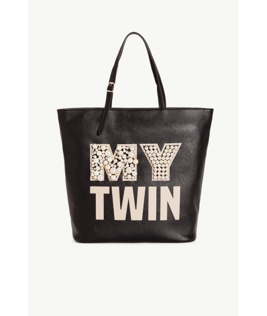 Borsa Shopping Ricamo My Twin By Twin-Set