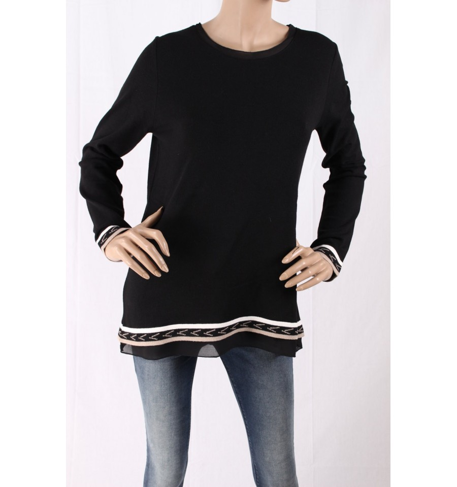 02bf41699bc3ba Sweater With The Opening In The Back Of Dorabella - Vestiti Firmati...