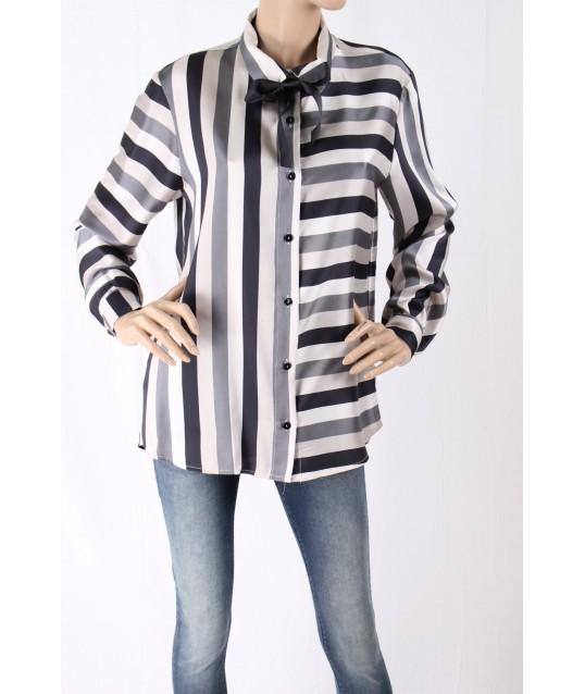 Long Sleeve Shirt Pinstriped Sandro Ferrone