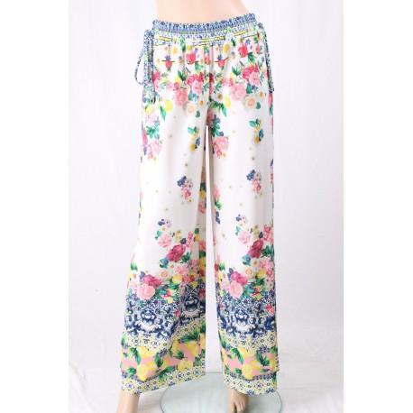 Pantaloni Floreali Fracomina