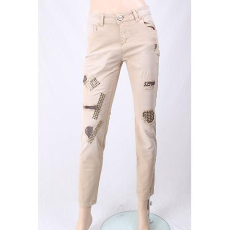 Pantalon Avec Des Applications Elisa Cavalletti