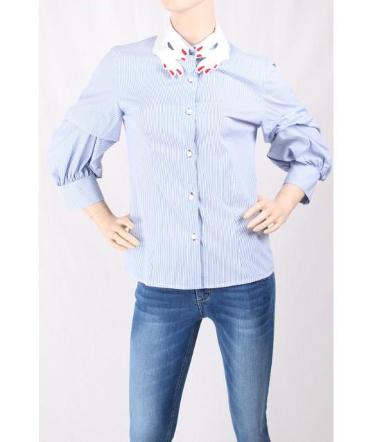 Shirt With Collar Sandro Ferrone