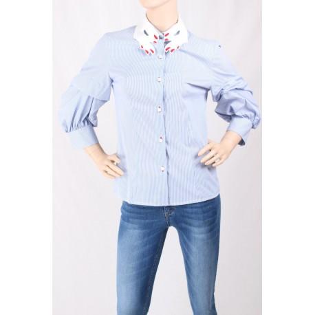 Shirt Wand With Collar, Sandro Ferrone
