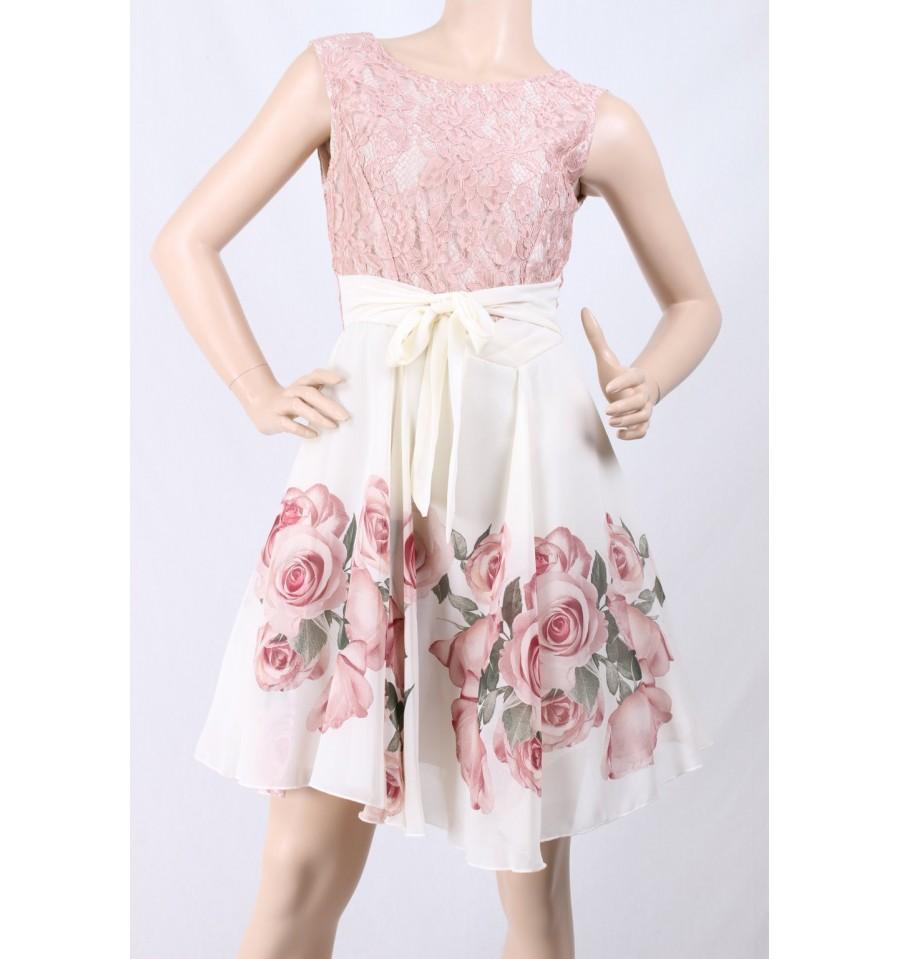 Abito Roses Rinascimento - Vestiti Firmati Life Smiles 76b56f45916