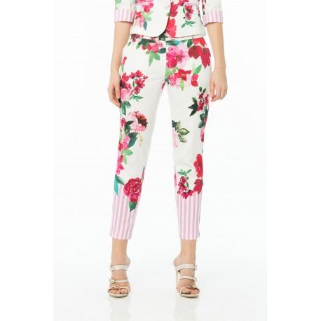 Pantalon Floral De Cannelle