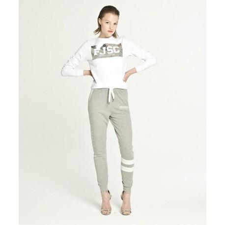 Pantaloni Tuta Con Logo Fracomina