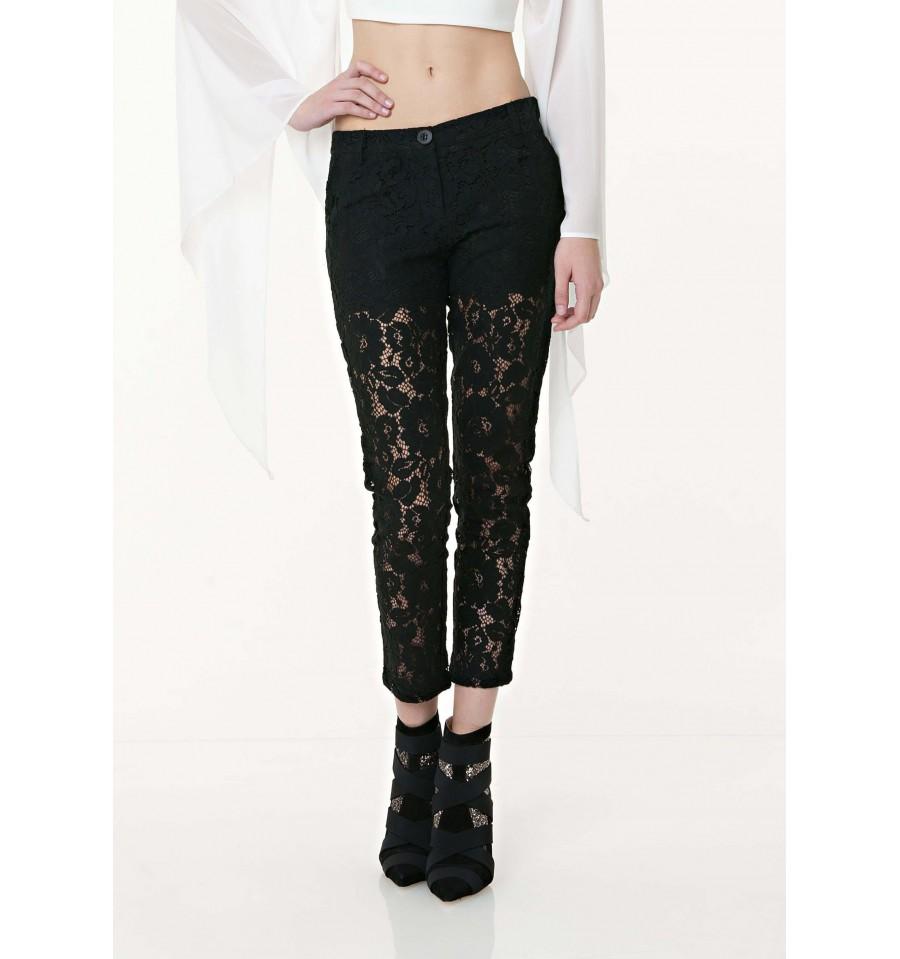 Pantaloni Modello Chino In Pizzo Fracomina - Vestiti Firmati Life S... 8b4b63ded4fd