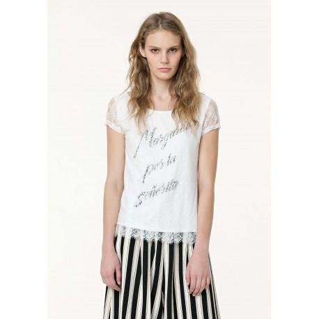 T-Shirt Con Slogan Fracomina