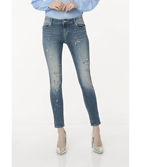 Jeans Vita Alta Slim Fracomina