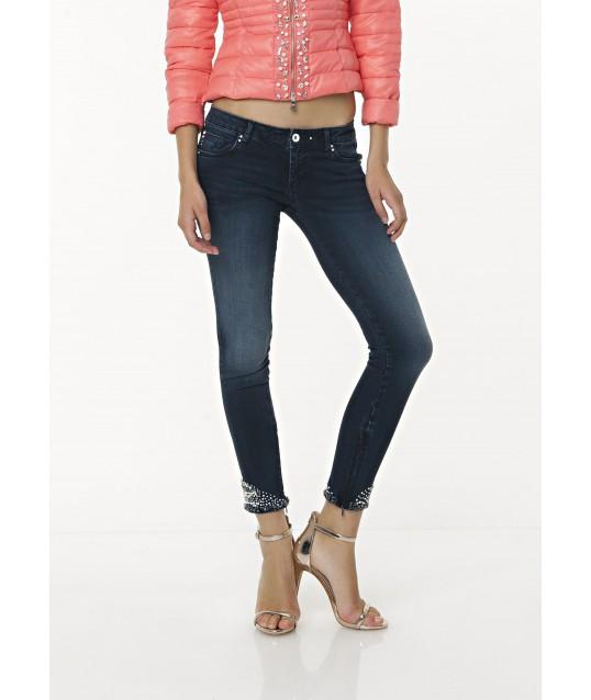 Jeans Cropped Skinny Fracomina