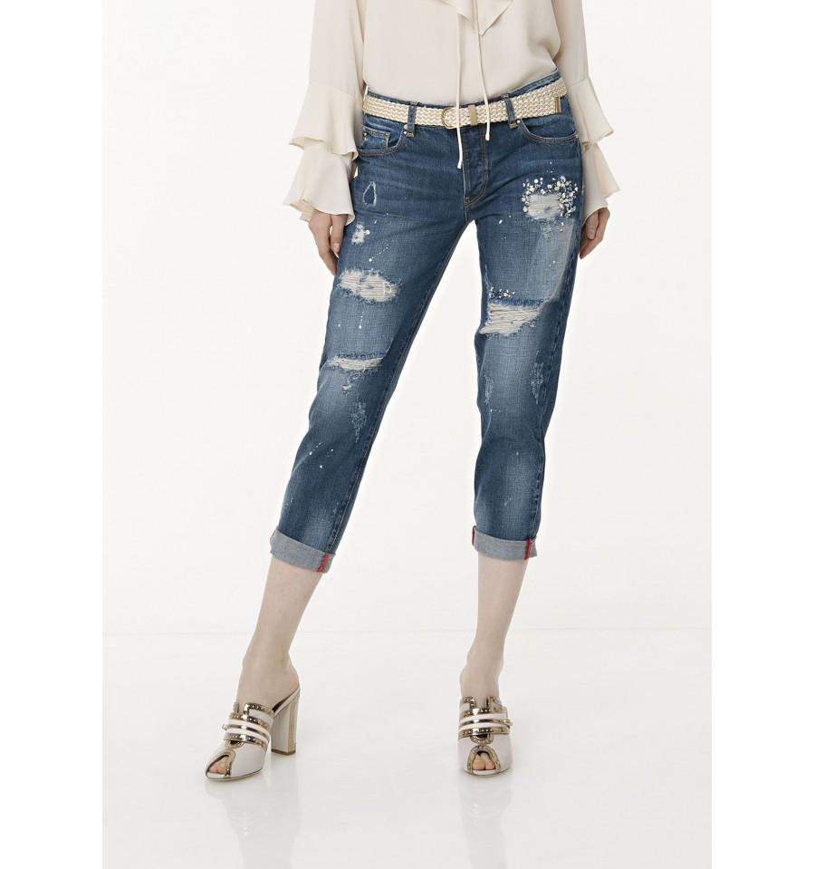 Jeans Boyfriend Fracomina - Vestiti Firmati Life Smiles 0ef2aad8989