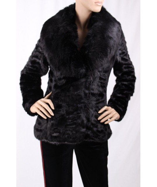 Jacket In Fake Fur, Fracomina