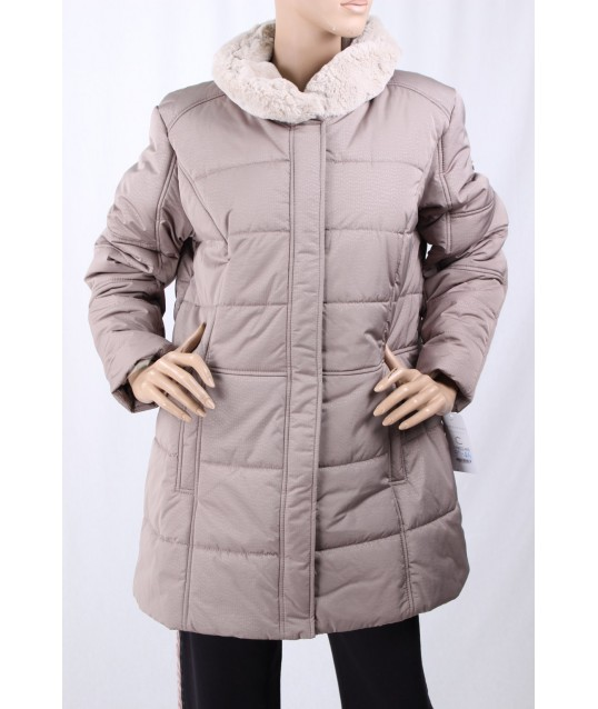Down Jacket With Fur Canasport ConceptK
