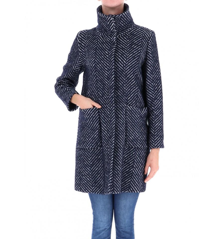 outlet store 3d5e3 e1d79 Coat Patterned Emme Marella