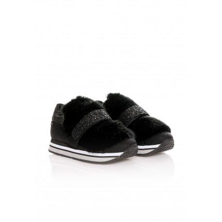 Sneakers Con Pelliccia Fracomina