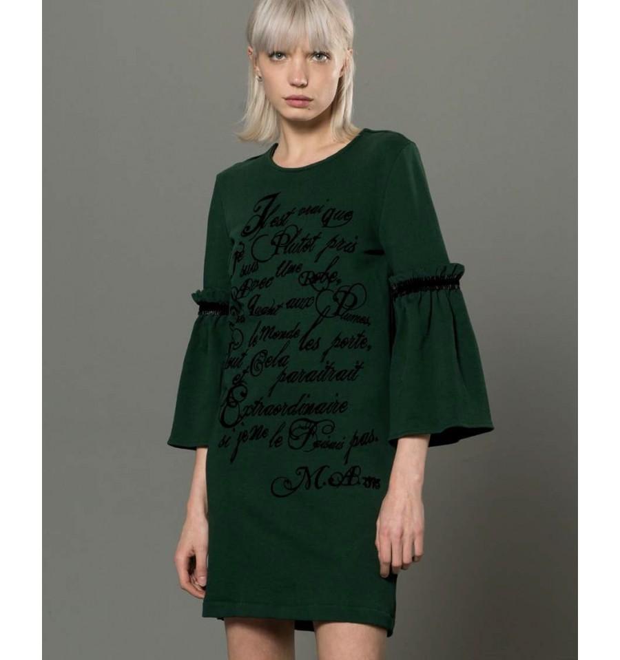 Knitted Dress With Print Fracomina - Vestiti Firmati Life Smiles 321296b9d8c