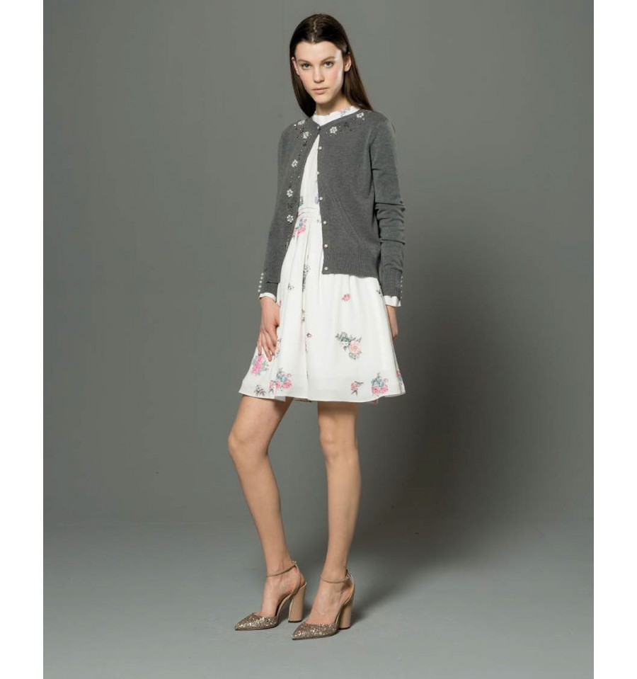 Dress With Print Fracomina - Vestiti Firmati Life Smiles be09494610c