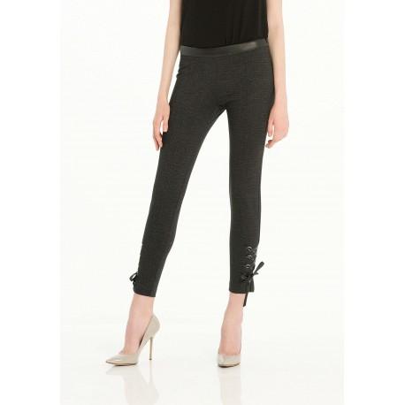 Pantaloni Slim Con Laccetti Fracomina