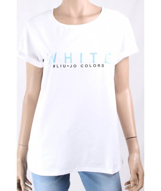 T-Shirt De Couleur Unie Liu Jo
