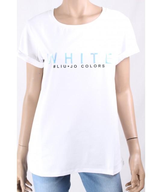 T-Shirt Tinta Unita Liu Jo