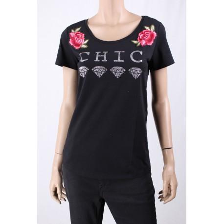 T-Shirt Con Applicazioni Emme Marella