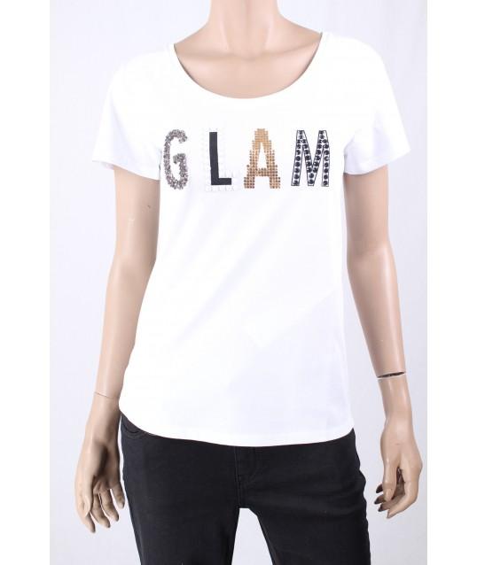T-Shirt Tinta Unita Glam Emme Marella