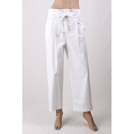 Long Pantalon De Couleur Unie De L'Emme Marella
