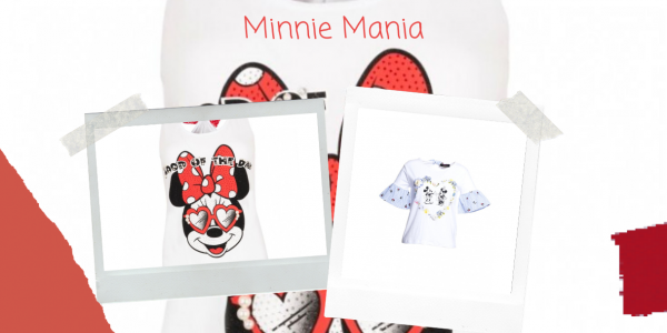 Minnie Mouse inspires fashion this summer