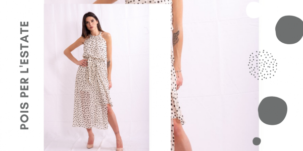 The polka dots, the fantasy of the summer,